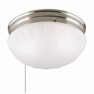 Westinghouse 6721000 two light flush mount interior for Pull chain flush mount ceiling light