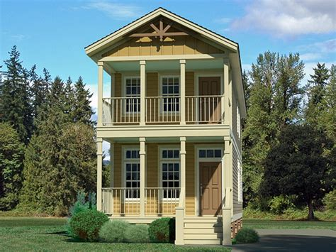 one craftsman style home plans narrow lot homes narrow house plans narrow lot