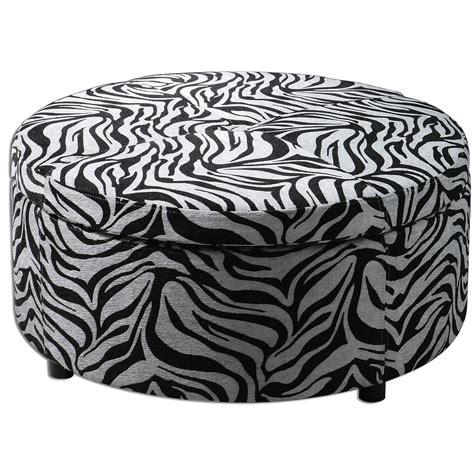 large animal print ottoman 17 zebra living room decor ideas pictures