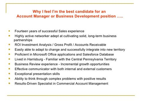 Why Am I The Best Candidate For The Position by Why Im The Best Candidate David Bruno2010 Sales