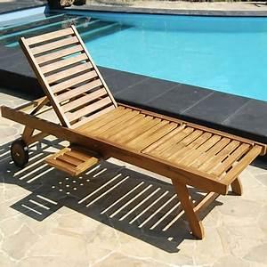 Bain De Soleil Bois Pas Cher : bain de soleil chaise longue en bois de teck huil pas cher prix auchan ~ Teatrodelosmanantiales.com Idées de Décoration