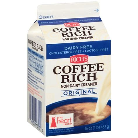 Rich's Coffee Rich Original Non Dairy Creamer, 16 oz   Walmart.com