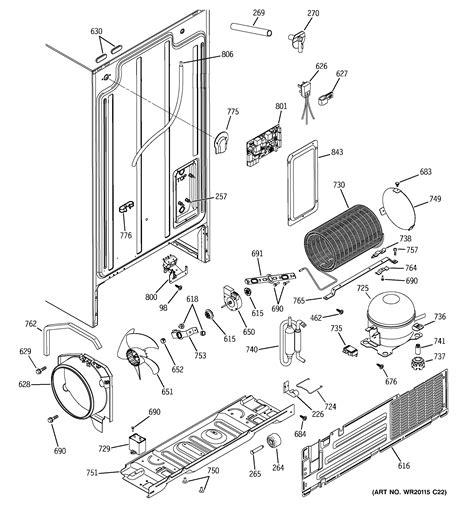 ge refrigerator  series parts model gshjsxbss sears