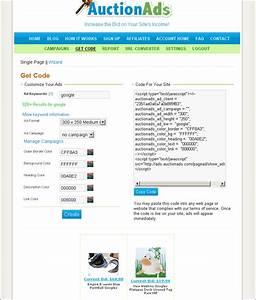 AuctionAds.com, an Ebay Ad System