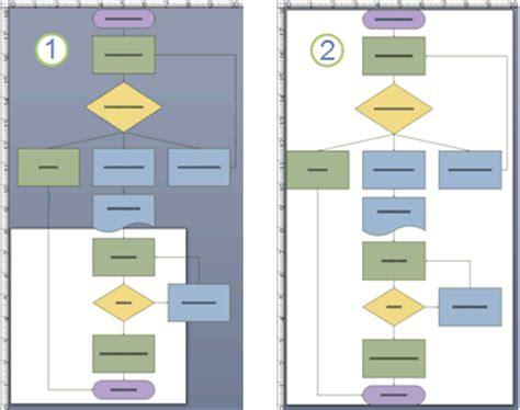 erstellen eines standardflussdiagramms visio