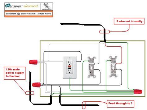 Bathroom Light Wiring Diagram by Wiring Bathroom Fan Wiring Diagram