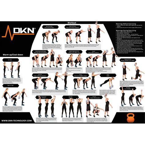 kettlebell weight 8kg dkn vinyl chart exercise kettlebells sweatband