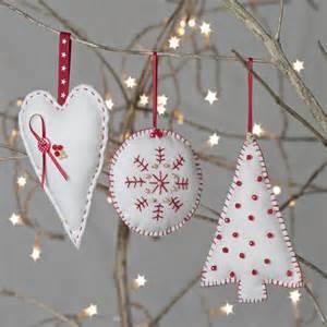 christmas decoration sewing kit by clara notonthehighstreet com