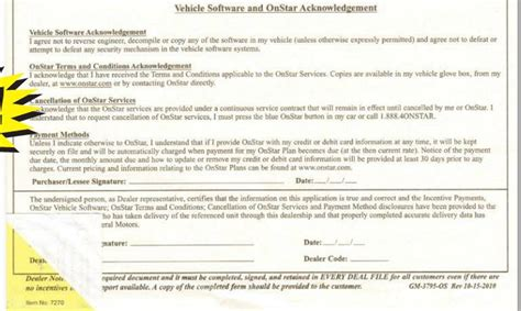 onstar customer service phone number gm customer incentive onstar acknowledgement