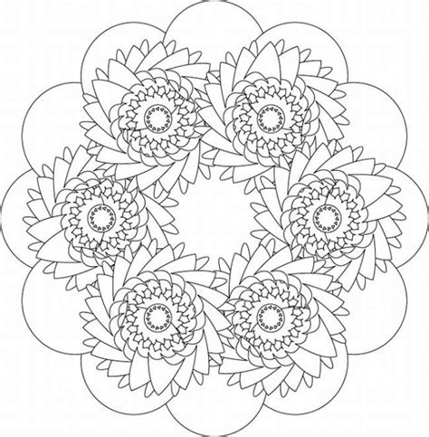 intricate coloring pages for adults Free coloring pages