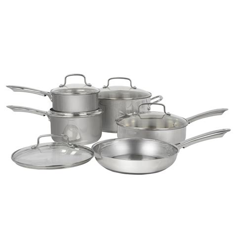 cuisinart cookware stainless steel walmart 10pc sets canada kitchenware