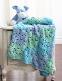 3 Color Crochet Blanket