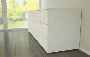 Sideboard Badezimmer Weiß : sideboard in wei em mattlack meine m belmanufaktur ~ Markanthonyermac.com Haus und Dekorationen
