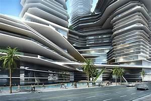 Cloud Citizen : Futuristic Green Skyscrapper for Shenzhen ...