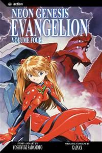 Neon Genesis Evangelion Vol 4 VIZ MANGA line Manga