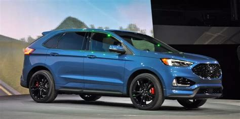 ford edge st price specs interior colors ford