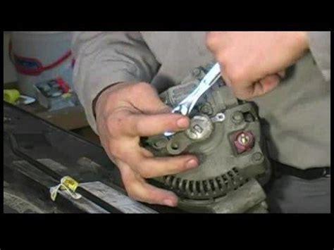 How Rebuild Alternator Remove The Voltage