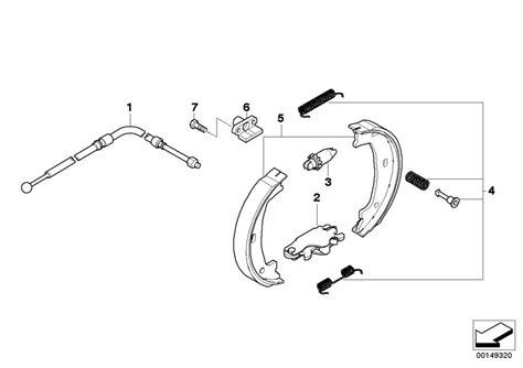 Bmw Z Series Parking Brake/brake Shoes