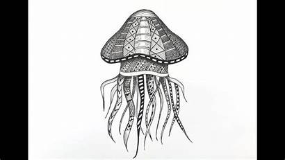 Jellyfish Zentangle