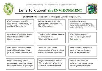 esl lets talk  series conversation worksheets