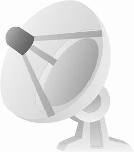 Satellite Dish Design - Free Clip Art