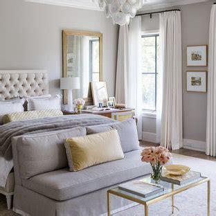 popular bedroom  gray walls design ideas