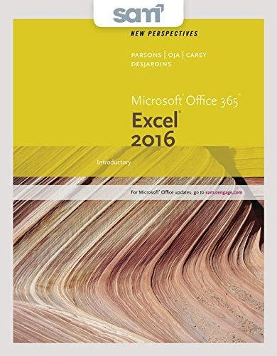 isbn 9781337216456 bundle new perspectives microsoft office 365 and excel 2016 introductory