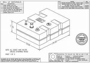 Moeller 12 Gal  Below Deck Fuel Tank   032512