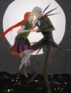 jack and sally by ameru on DeviantArt