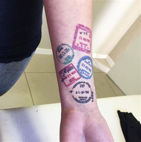 inspirational travel tattoos    perfect