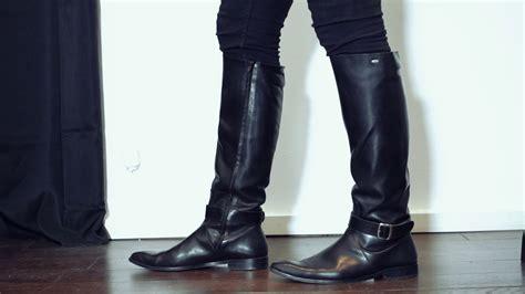 8647f62d1 Knee High Boots For Men Model 400 Youtube