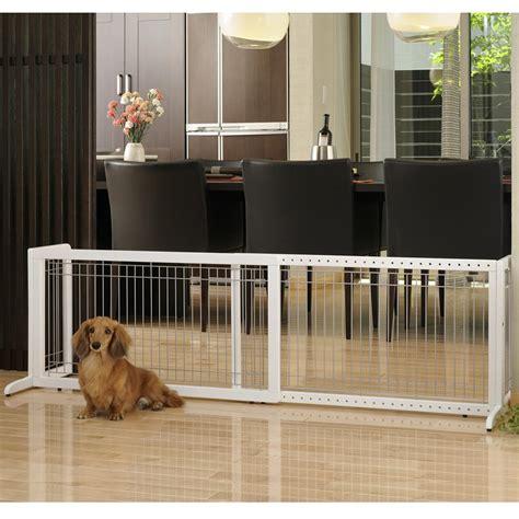 amazoncom richell wood freestanding pet gate large