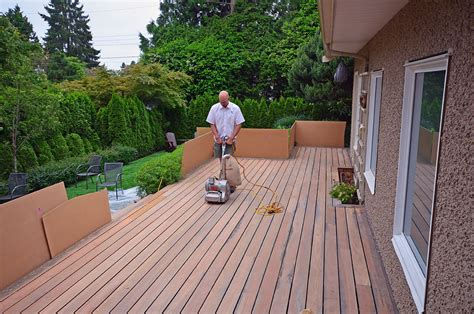 sanding a deck sanding wood deck repair bing images