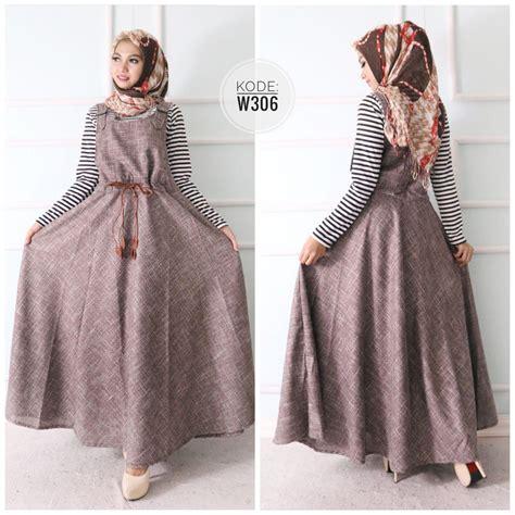 umbrella skirt overal  baju hijab style ootd
