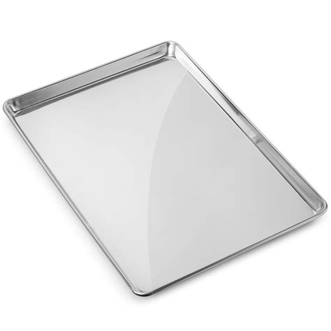 baking sheet pan cookie commercial grade sizes aluminum pans aluminium bunnings sheets tray assorted rated amazon sell x26 half gridmann