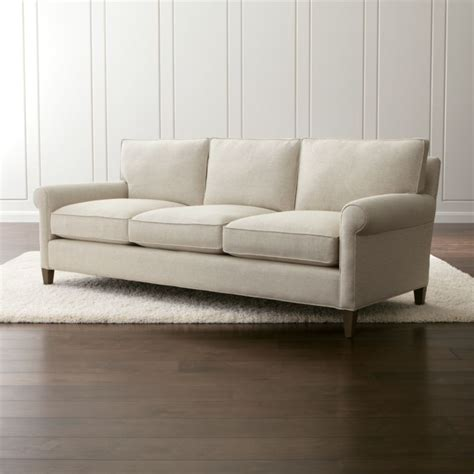 crate and barrel settee montclair 2 seat sofa rolled arm sofa crate and barrel