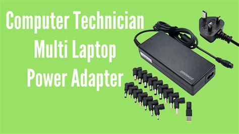 computer technician multi laptop power adapter