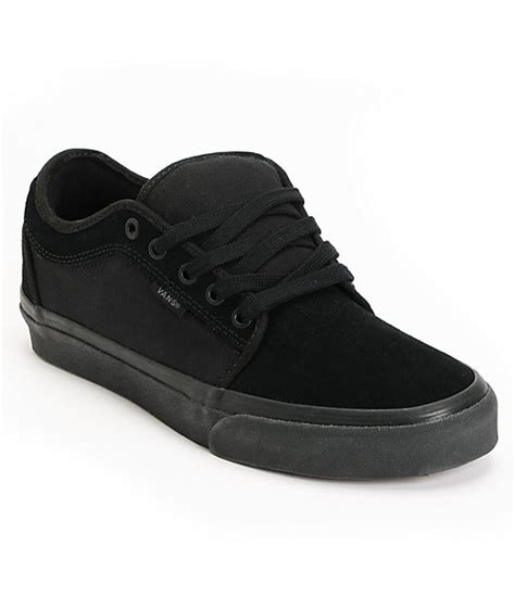 Vans Boat Shoes All Black by Vans Chukka Low All Black Skate Shoes Mens At Zumiez Pdp