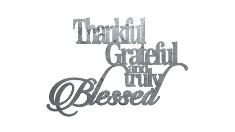 thankful grateful   blessed metal sign christian signs metal signs christian wall art