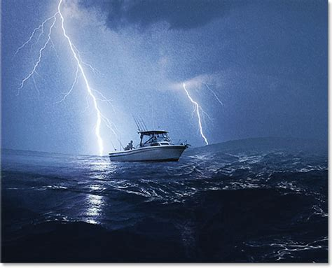Fishing Boat Storm Movie by Blend Photos Like A Hollywood Movie Poster With Photoshop Cs6