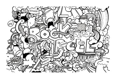 Coloring Doodle by Doodle Free To Color For Doodle