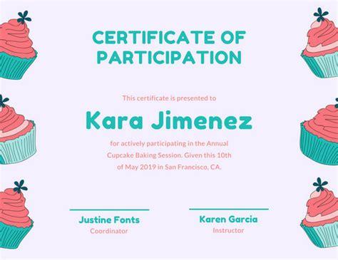 certificate templates canva