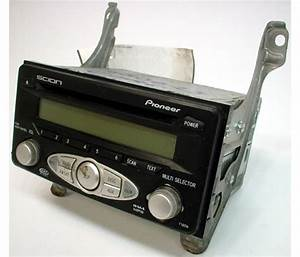2006-2007 Scion Tc Factory Radio Cd Mp3 Player