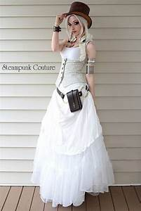 beige pinstripe underbust vest would be an awesome With pinstripe wedding dress