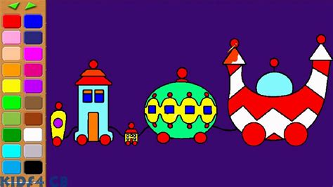 night garden  ninky nonk coloring pages youtube