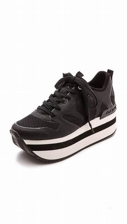 Sneakers Platform Dkny Jessica Runway Shoes Lyst