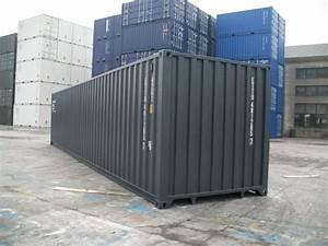 40 Fuß Container : neuer 40 fu seecontainer grau ~ Frokenaadalensverden.com Haus und Dekorationen