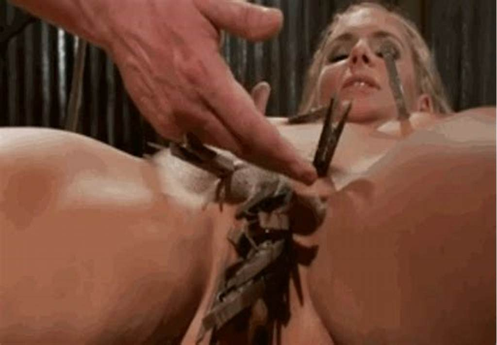 #Bdsm #Nipple #Clamp #Torture #Gif