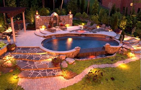 low voltage pool light illuminate your landscape with lighting sheri martin