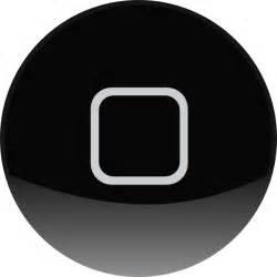 iphone home button clip at clker vector clip